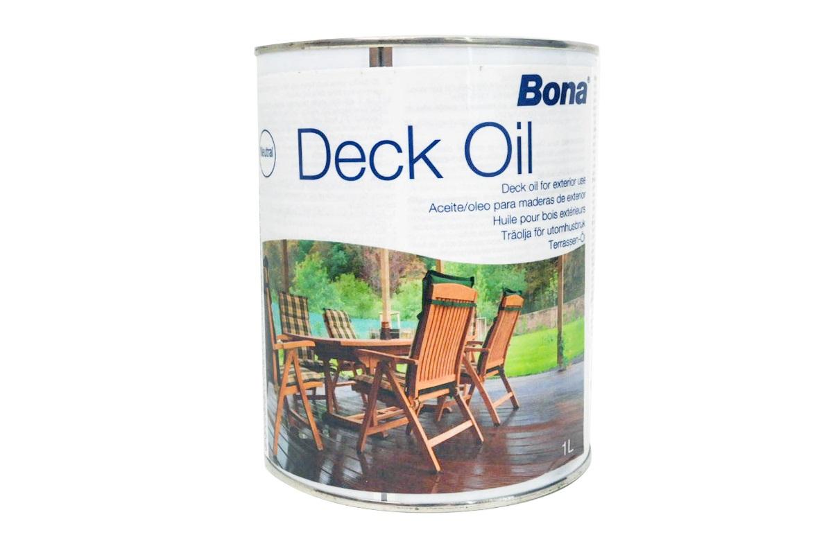 Bona Deck Oil Holzterrassen Ol 1 Liter Parkett Online Shop
